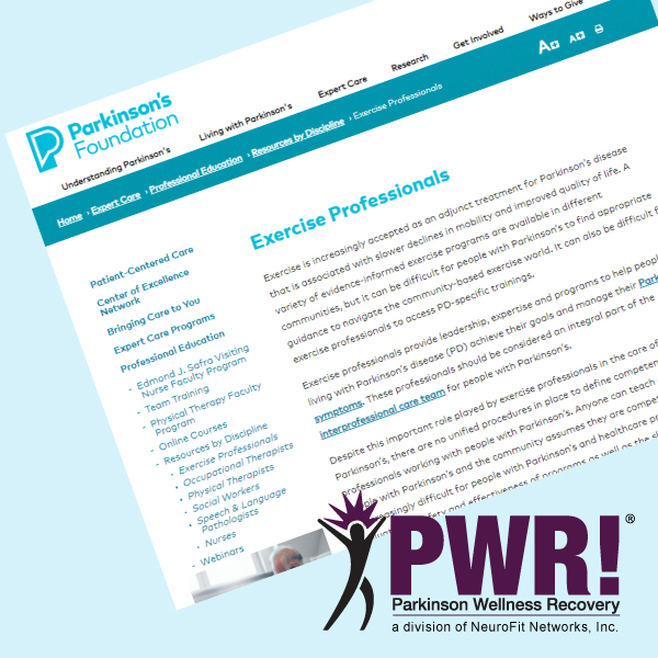 ParkinFoundationandPWR